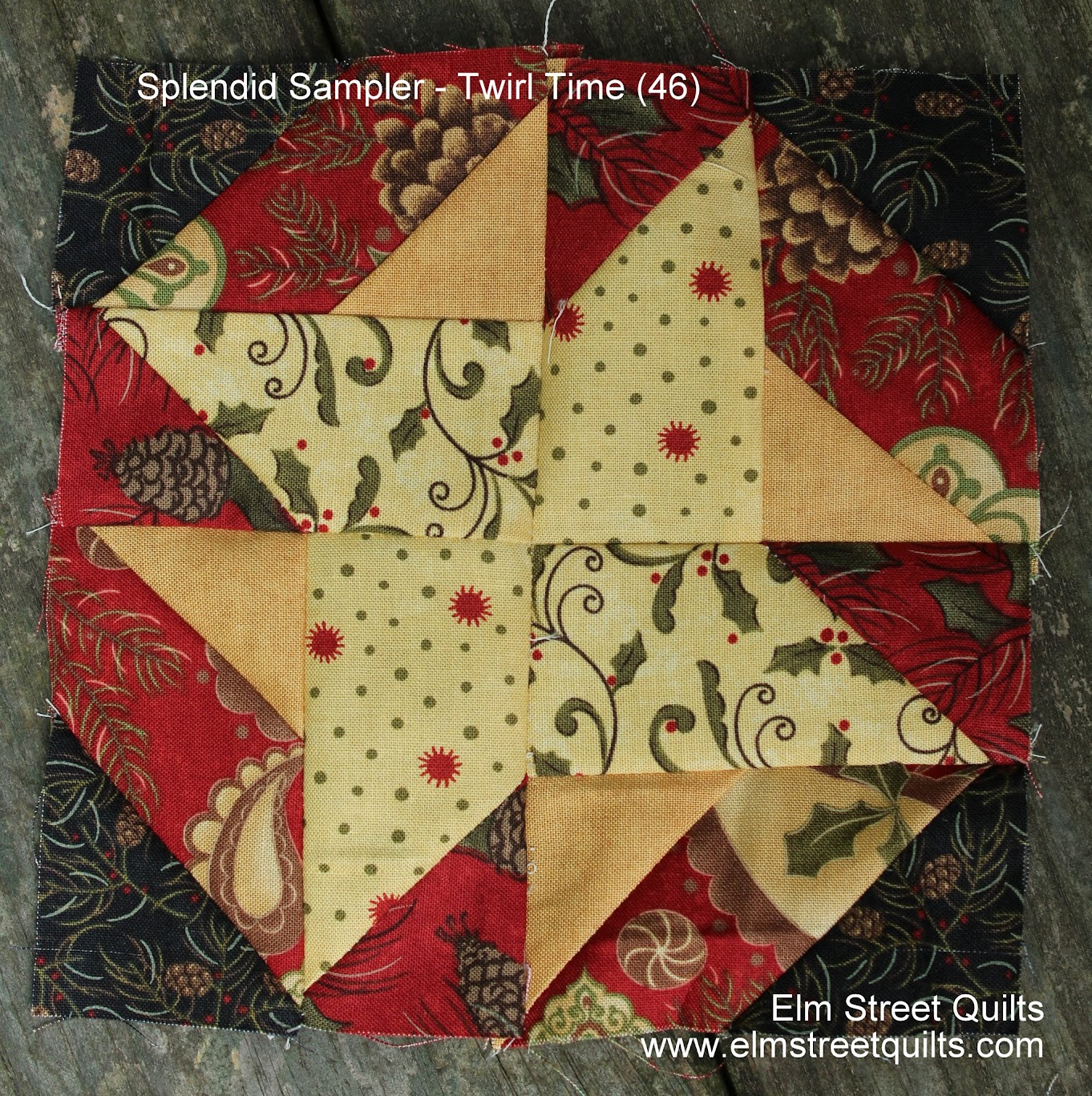 Splendid Sampler block 46