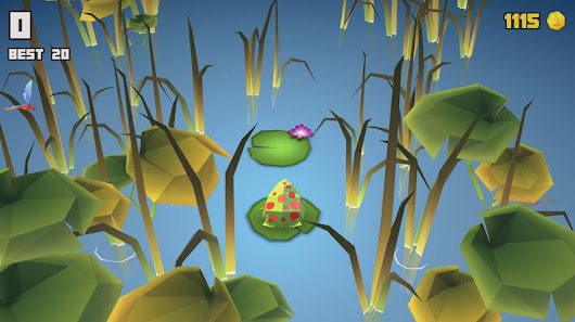 JuJu Frog - a Game for Android made with Unity