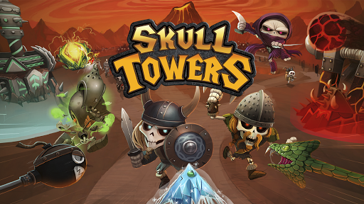 Skull Towers Castle Defense Game