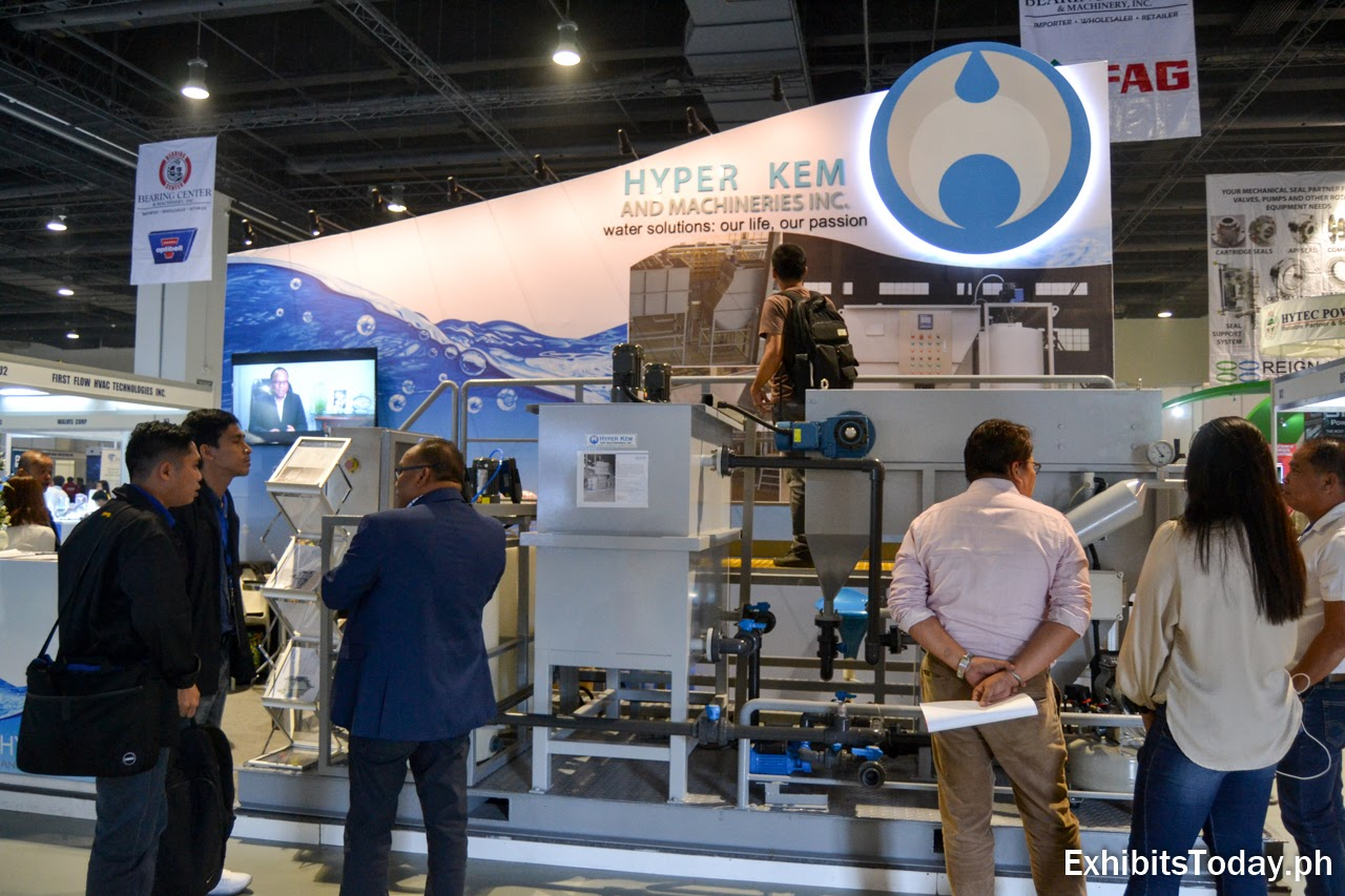 Hyper Kem and Machineries Exhibition Booth