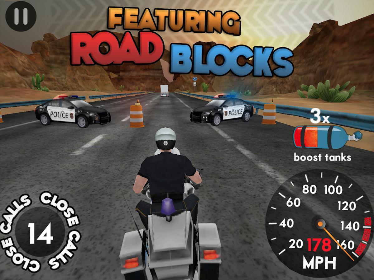 Highway Rider v1.6.1 Mod Unlimited Boosts APK Racing Games Free Download