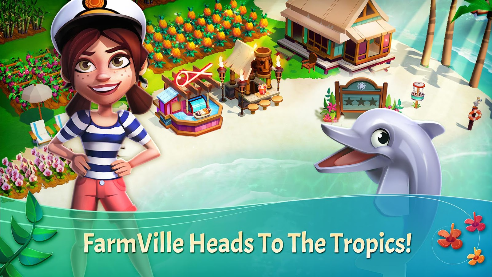 FarmVille: Tropic Escape 1.2.321 Apk Mod Unlimited Gems
