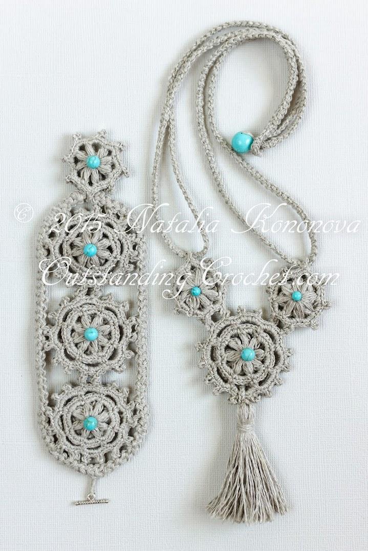 Outstanding Crochet New Crochet Fiber Jewelry Pattern In The Store