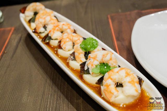 shrimp tofu salad