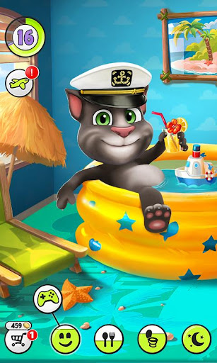 Game My Talking Tom Hack Full Tiền Vàng