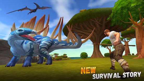 Jurassic Survival Island 2: Dinosaurs & Craft v 1.4.8 apk mod DINHEIRO INFINITO