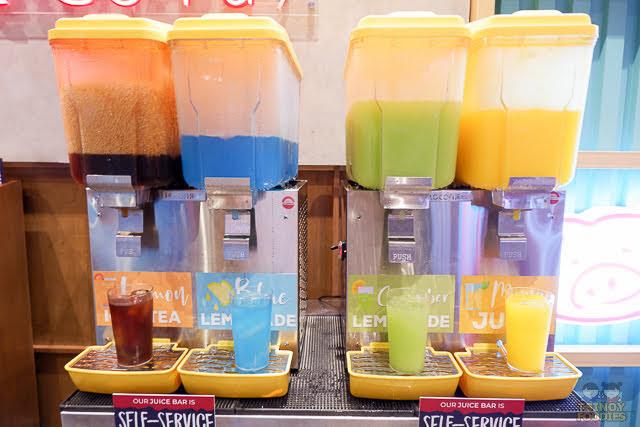self service juice bar
