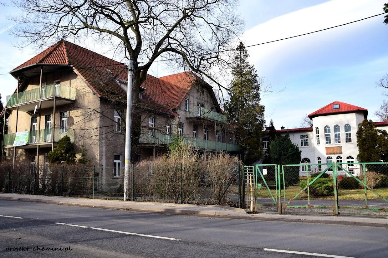 Uzdrowisko Cieplice Pawilon Małgosia- byłe sanatorium dziecięce