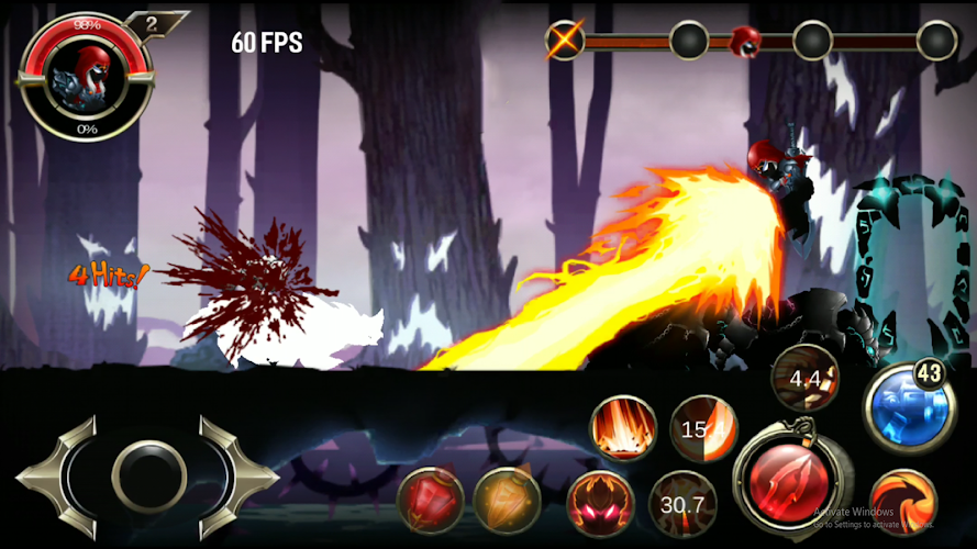 Stickman Ninja warriors Screenshot 02