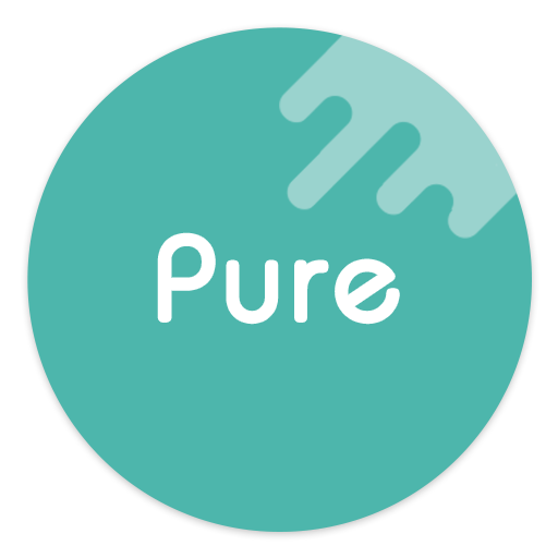 Pure - Icon Pack ( Flat Design ) v7.2 (Patched)