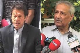 पाकिस्तान के प्रधानमंत्री इमरान खान और परमाणु वैज्ञानिक डॉ. अब्दुल कदीर खान