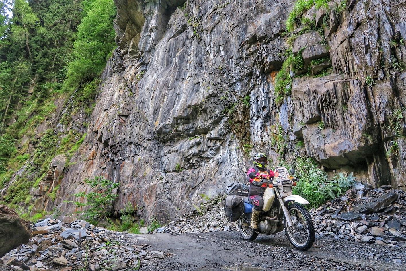 Gruzja na motocyklu