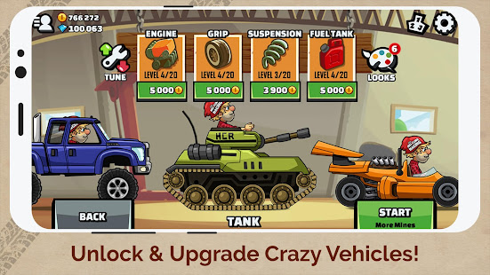 Hill Climb Racing 2 V1.31.0 Apk+Mod Apk For Android Unlimited Gems & Coins