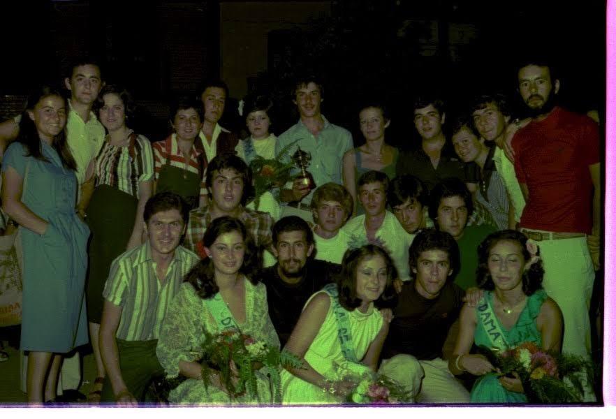 Finales de cursos y juegos florales años 60-70