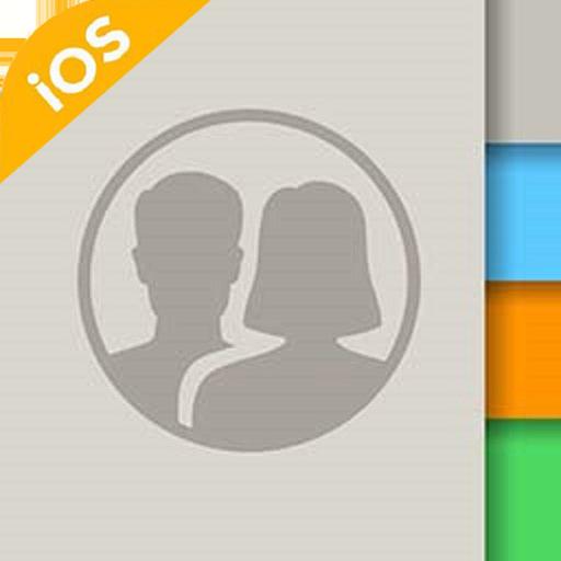 iContacts - Liên hệ iOS, Danh bạ phong cách iPhone