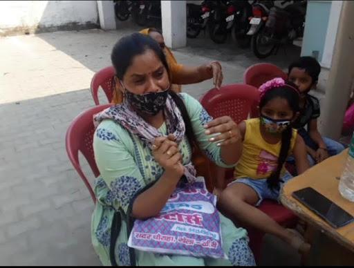 मुंबई से गोला आई पीड़ित महिला को नहीं मिल रहा था न्याय