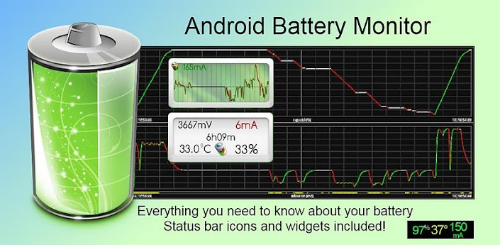 android Battery Monitor Widget Pro