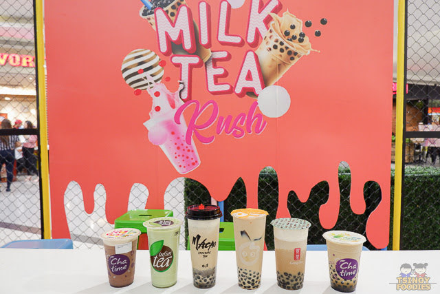milk tea rush at sm manila