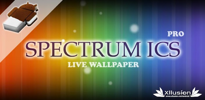 3d Parallax Background Live Wallpaper For Android Os Open Apk Spectrum Ics Pro Live Wp