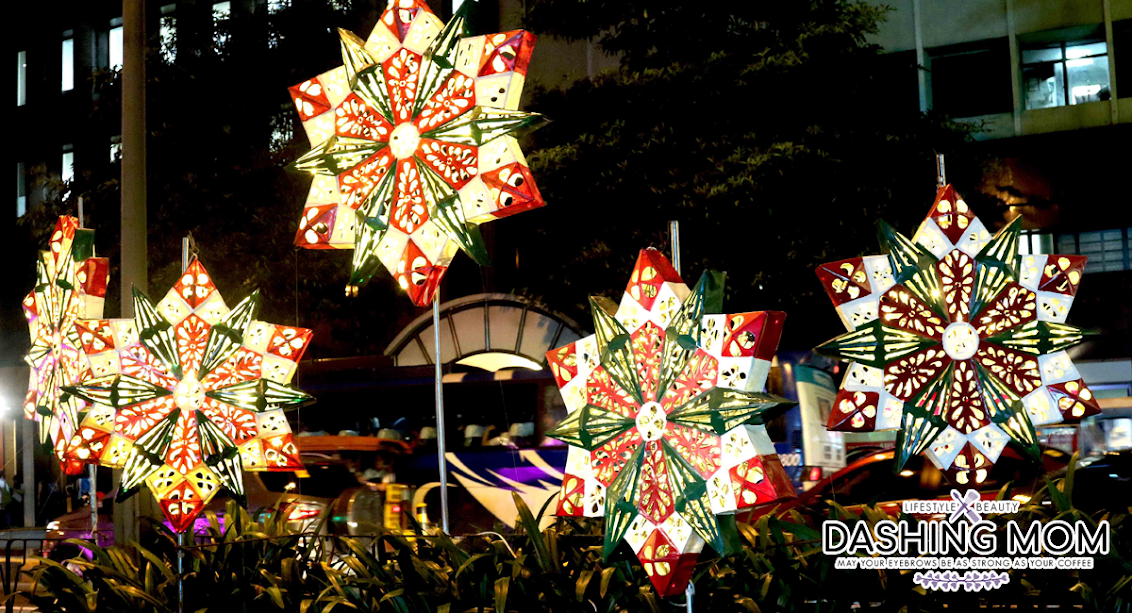 Ceremonial Street Lighting Heralds A Filipino Christmas In The City